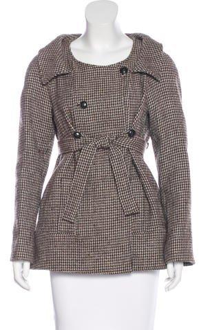 Chloé Chloé Wool & Alpaca-Blend Coat