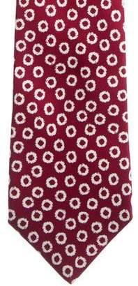 Charvet Geometric Print Silk Tie