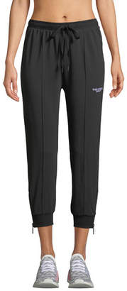 The Upside Black On Black Fleece Track Pants