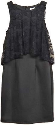 Emma & Michele Black Lace Dress