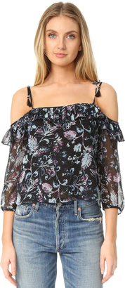 Ella Moss Dreamer Wildflower Blouse $168 thestylecure.com