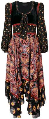 Etro long paisley dress