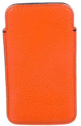 Smythson Leather Phone Slip