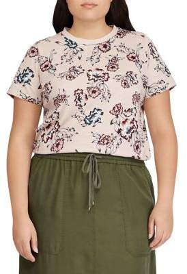 Lauren Ralph Lauren Plus Jersey Short-Sleeve Top