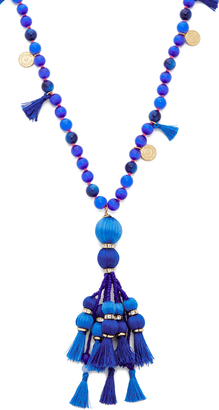 Kate Spade New York Pretty Poms Tassel Pendant Necklace $128 thestylecure.com
