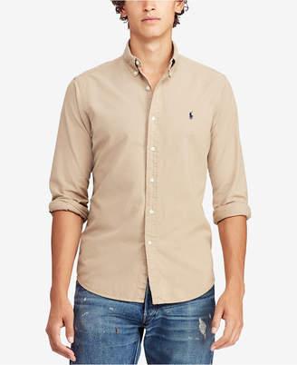 Polo Ralph Lauren Men Classic Fit Garment Dyed Oxford Shirt