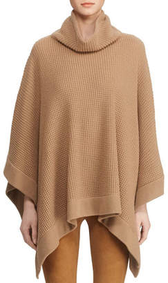 Ralph Lauren Cowl Neck Poncho Sweater