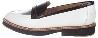 Flamingos Leather Pointed-Toe Loafers