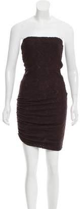A.L.C. Strapless Lace Dress