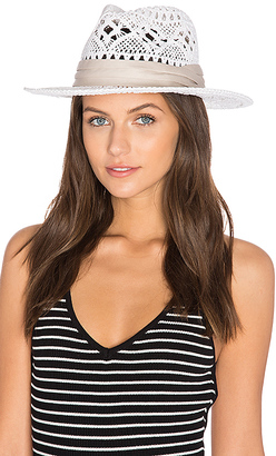 LSPACE L*SPACE Jet Setter Hat in White. $64 thestylecure.com