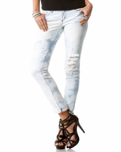 Carmen Rolled & Destroyed Skinny Jean