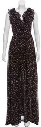 Rebecca Minkoff Floral Print Maxi Dress w/ Tags