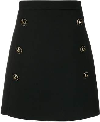 Dolce & Gabbana buttons mini skirt