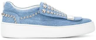 Sergio Rossi studded platform sneakers