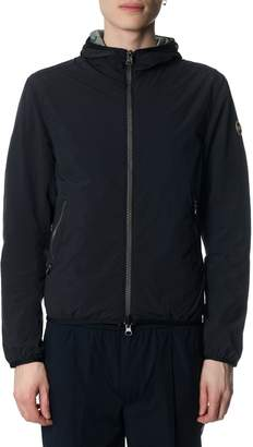 Colmar Black Reversible Down Jacket In Nylon