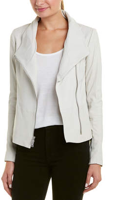 Vince Asymmetric Leather Jacket