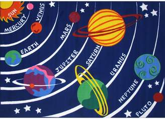 Fun Rugs Fun Time Solar System Kids Rug Rug