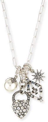 Lulu Frost Mixed Crystal Charm Necklace