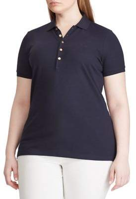Lauren Ralph Lauren Plus Stretch Polo Shirt
