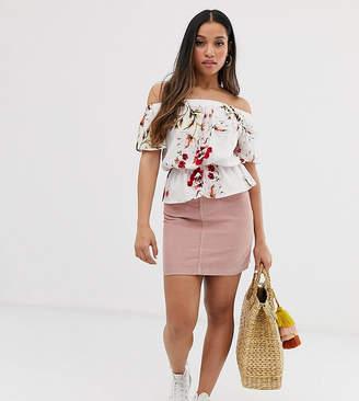 Vero Moda Petite corduroy mini skirt