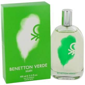 Benetton Verde by Benetton, Eau De Toilette Spray 3.3 oz, Men