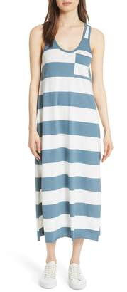 ATM Anthony Thomas Melillo Stripe Mercerized Jersey Dress