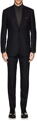 Brioni Men's Brunico Herringbone Wool-Silk Two-Button Suit