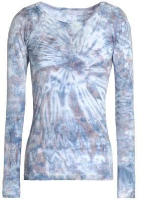 Kain Label Tie-Dyed Cotton And Modal-Blend Jersey Top
