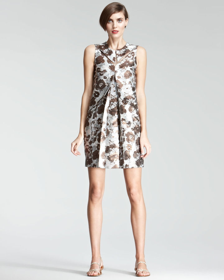 Christopher Kane Floral Shift Dress