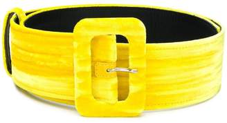 ATTICO classic buckled belt