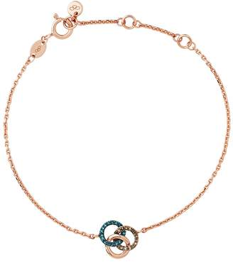 Links of London Rose Gold and Diamond Treasure Bracelet