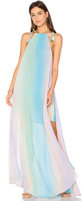 Show Me Your Mumu Rochester Maxi Dress in Blue $216 thestylecure.com