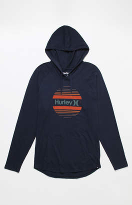 Hurley One & Only Sunset Hooded Long Sleeve T-Shirt