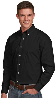 Antigua Men's Dynasty Modern-Fit Solid Button-Down Shirt