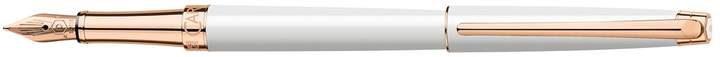 Leman Slim Fountain Pen, White
