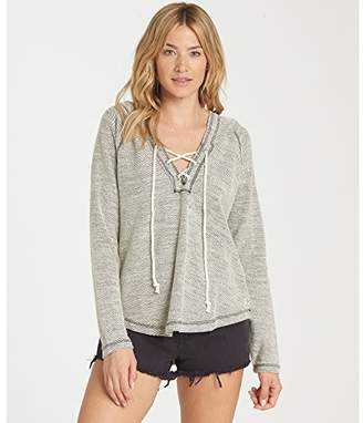 Billabong Women's Along Side Fleece Sweatshirt