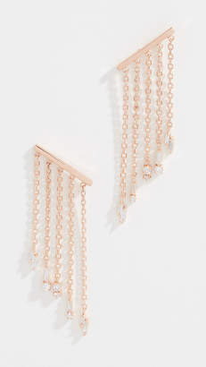 Suzanne Kalan 18k Fringe Post Earrings