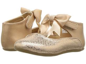Baby Deer First Steps Metallic Mary Jane with Bow (Infant/Toddler)