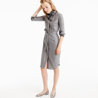 Collection shirtdress in Italian cashmere $995 thestylecure.com