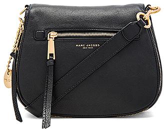 Marc Jacobs Recruit Nomad Shoulder Bag in Black. $450 thestylecure.com
