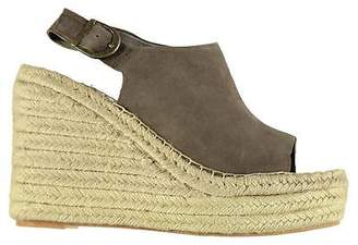 Jeffrey Campbell Womens JN017 Wedge Platform Open Toe Shoes Ankle Strap