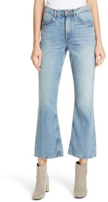 The Great Western Crop Bootcut Jeans