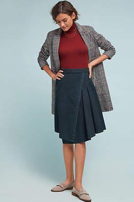 Praire Underground Marjorie Denim Wrap Skirt