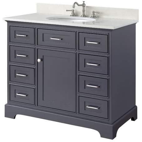 "KBC Aria 42"" Single Bathroom Vanity Set Base"