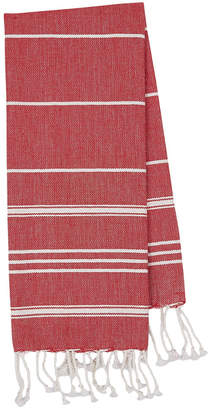 Design Imports Set Of 3 Small Ribbon Fouta Towels