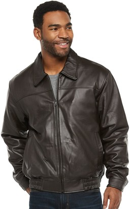 Men's Vintage Leather Split Nappa Leather Jacket