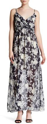 Soprano Woven Print Maxi Dress $46 thestylecure.com