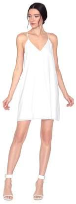 Alice + Olivia Black, Navy, White Fierra Dress