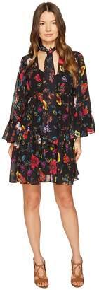 McQ V-Neck Short Volume Dress Women's Dress