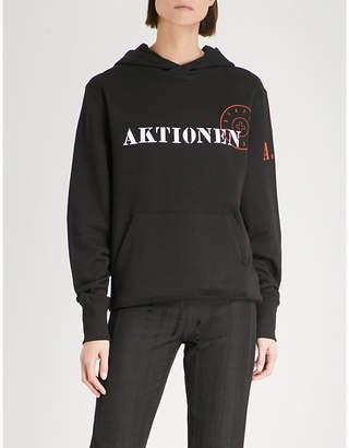 A.F.Vandevorst Aktionen cotton-jersey hoody